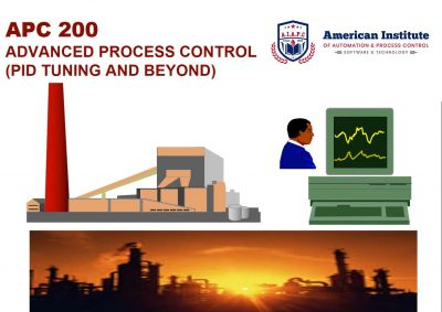 Advanced Process Control (PID Tuning and Beyond) - APC 200