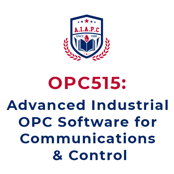Advanced Industrial OPC Software for Communications & Control Online course - aiapc.org