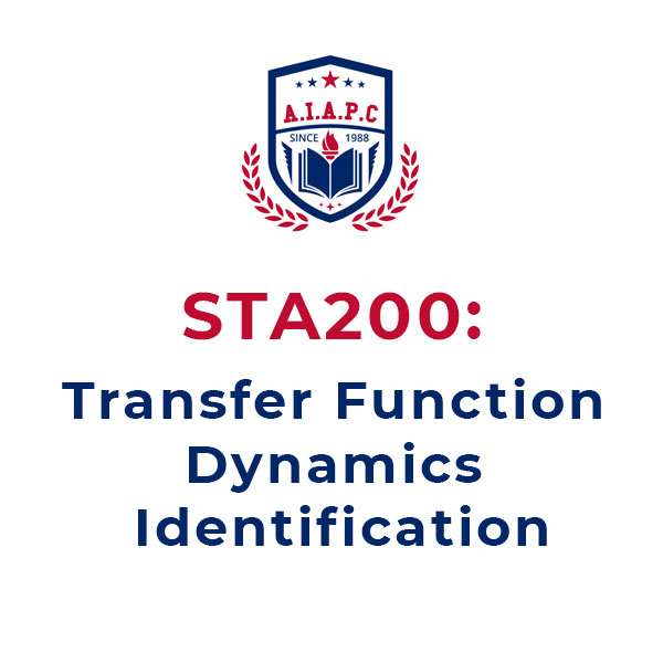 STA200: Transfer Function Dynamics Identification online course - aiapc.org
